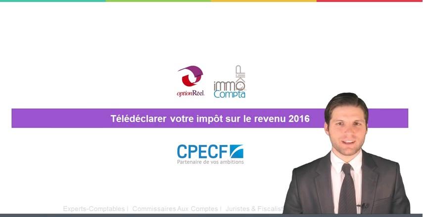 vidéo actu CPECF déclaration de revenus