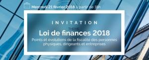 présentation de la loi de finances 2018
